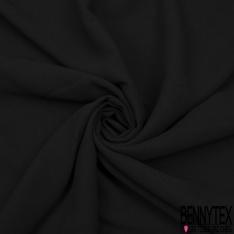 Crêpe Polyester Elasthanne Uni Fin Laurier Fleur