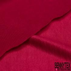 Maille Cristal Lourde Uni Rose Extrême petite laize