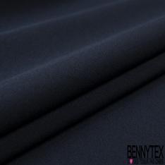 Microfibre lourde double face effet froissé indigo