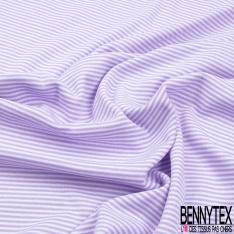 Molleton Bouclette Polyester Rayure Horizontale bzby Doll Blanc Sable Chiné grande laize