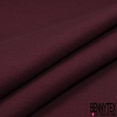 Jersey Coton Uni Interlock Chiné Rosier
