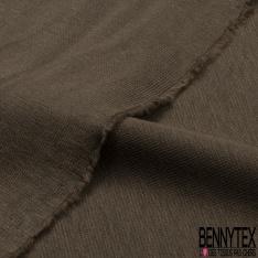 Jersey Coton Uni Interlock Hêtre