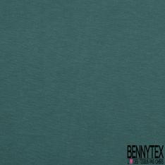 Jersey Coton Uni vert orage grande laize