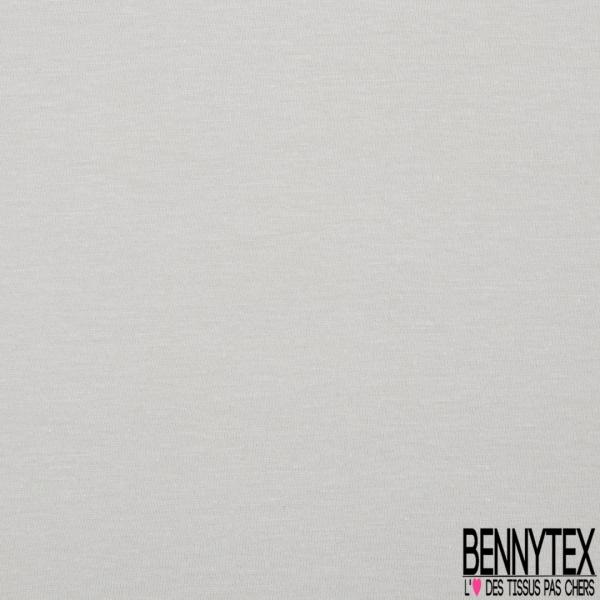 Jersey Coton Uni jour pluvieux grande laize