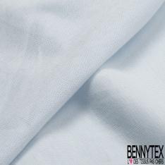 Jersey Coton Uni bleu léger grande laize