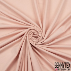 Jersey Coton Uni rose chintz