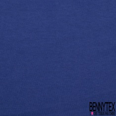 Jersey Coton Uni Bleu royal grande laize