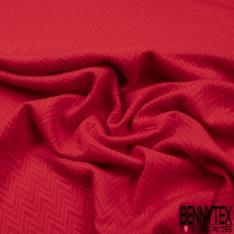 Jersey polyester Matelassé Géométrique Dulcamara