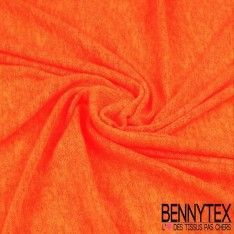Jersey Maille Flammée Orange Fluo
