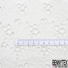Bande Soie Guipure de Luxe Blanc Cassé Made in France