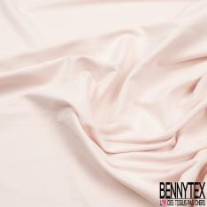 Molleton léger bouclette perle blush grande laize