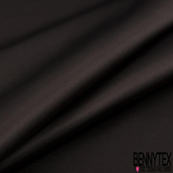 Satin Polyester Lourd Double Face Uni Céramique
