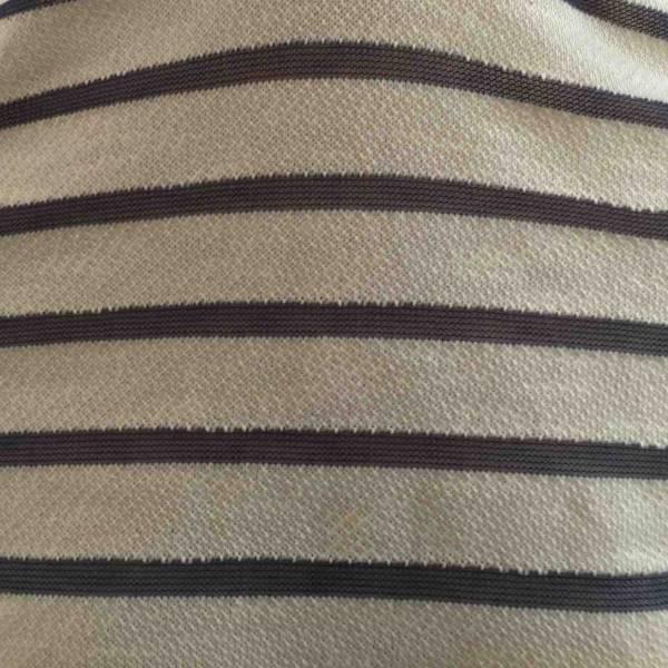 """Jersey Coton """"Serpillère"""" Marinière Bleu Indigo"""