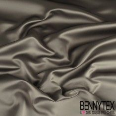 Satin MegaDuchesse Couleur Gris Anthacite