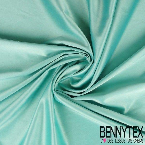 Satin Coton Polyester Lasthanne Couleur Vert D 39 Eau