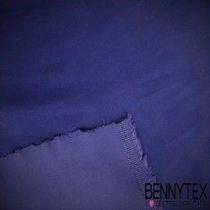 Satin Coton Polyester Élasthanne Couleur Bleu Nuit