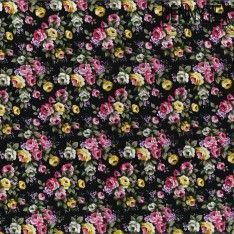 Coton Imprimé Motif Fleuri Réf :290
