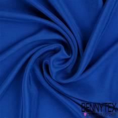 Crêpe de Soie Uni Bleu Roi