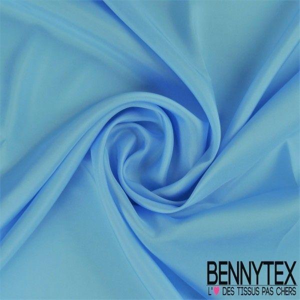 Pongé de Soie (100% Soie) - Bleu Ciel