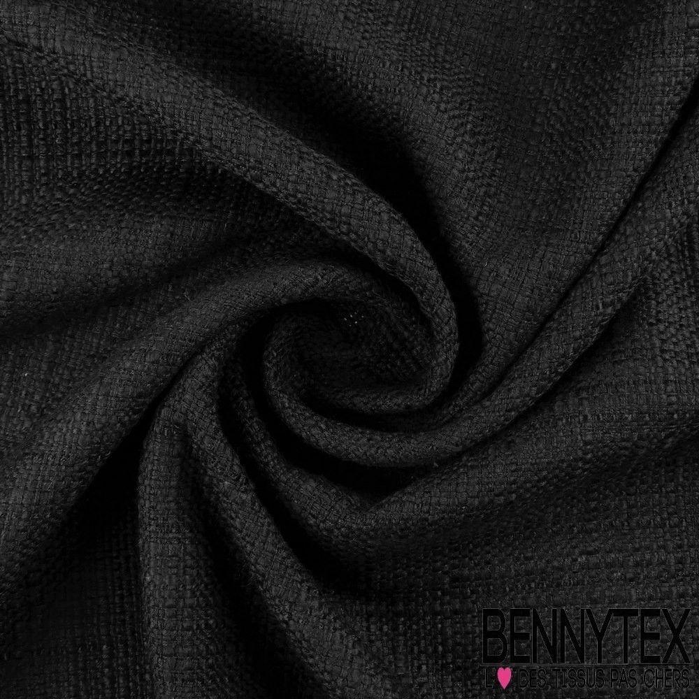 Tissu coton natt couleur noir bennytex vente de tissus - Les couleurs des tissus ...