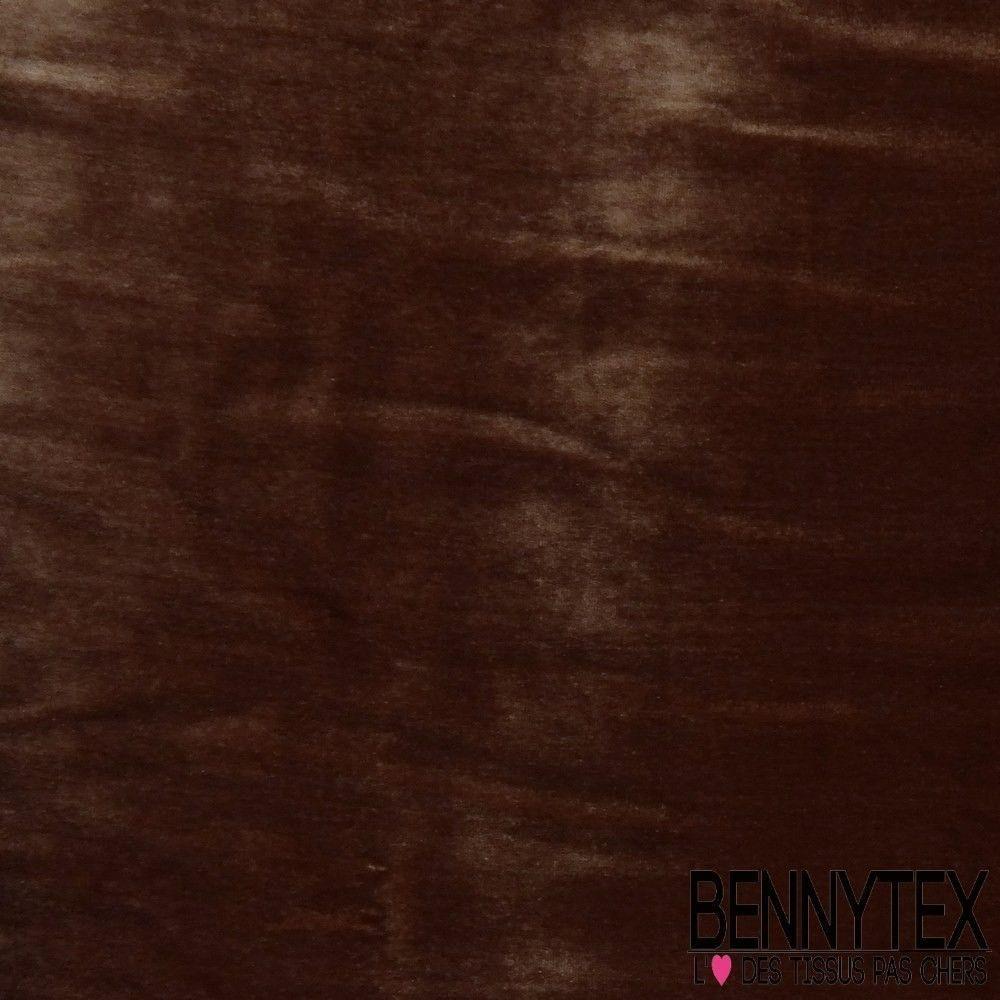 Velours de soie choco bennytex vente de tissus pas cher for Velours de soie ameublement