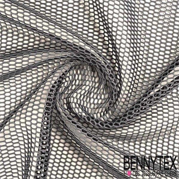 Résille Néoprène 3D Double Couche Gris Anthracite / Noire