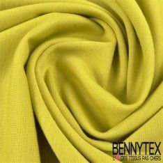 "Jersey Milano ""BIANCA"" Couleur Vert chartreuse"