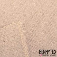 "Jersey Milano ""BIANCA"" Couleur Beige Clair"