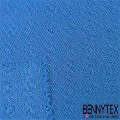 """Jersey Milano """"BIANCA"""" Couleur Bleu électrique"""