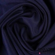 Jersey Milano Piquet Couleur Bleu Marine
