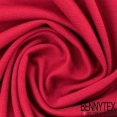 """Jersey Milano """"BIANCA"""" Couleur Rouge"""