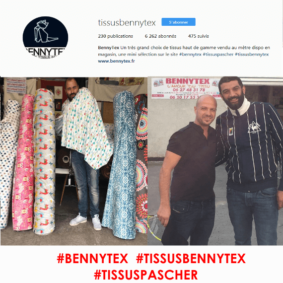 Instagram bennytex
